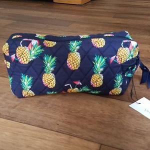 Vera Bradley Medium Cosmetic Bag Toucan Party